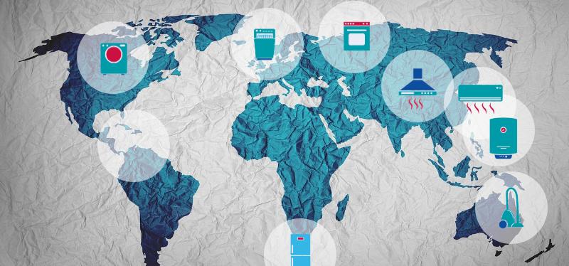 Как домакинските уреди и политиката оформят живота на 6континента?