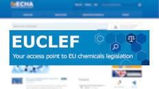 EuCLEF – нова онлайн услуга наECHA