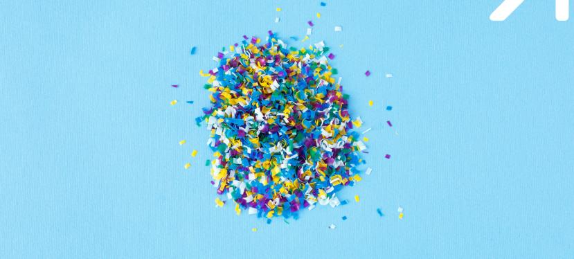Неволно отделяни пластмасови микрочастици от текстил по време напране